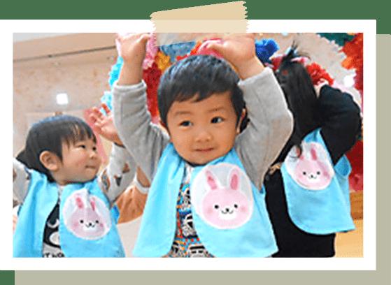 認定こども園教育保育要領に基づく活動(3・4・5歳児)、おやつ・午前の活動(0・1・2歳児)